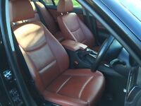 BMW 318 LOW MILEAGE .RED LEATHER.