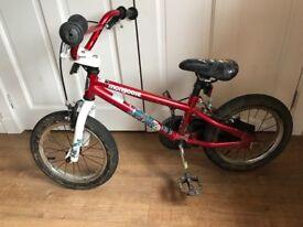 """Kids 14"""" mongoose bike"""