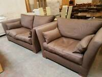 Barker and Stonehouse 2 seater and armchair