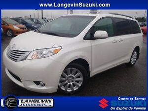 2014 Toyota Sienna LIMITED/AWD/GPS/DVD/CUIR/TOIT OUVRANT