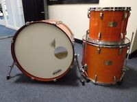 Pearl Export/ELX 3 Piece Drum Kit (Amber Mist Finish)