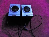 Two Altai stereo speakers