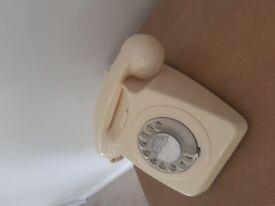 Used retro style telephone