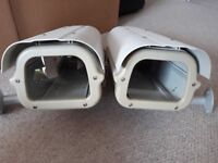 FREE!!! Two Security Camera Housings with Abus mounting brackets