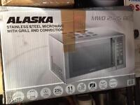 Microwave with grill & convection - stainless steel
