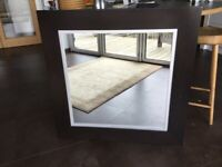 Large Solid Wood Wall Mirror