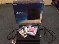 PS4 500GB BOXED FULL MATTE ED BUNDLE