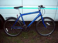 mens hard framed mountain bike serviced ready to go
