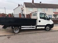 2007 iveco daily dropside truck 9 months mot ready for work