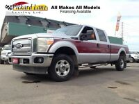 2011 Ford F-350 LONG BOX AND CREW CAB!!!