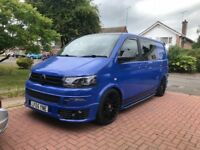 Vw t5 campervan one off massive spec