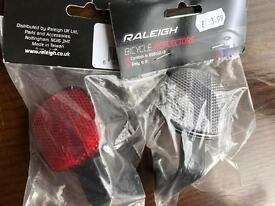 Raleigh bicycle reflectors