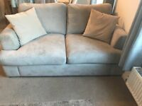 Three Seater Chaise Lounge & Two Seater Sofa