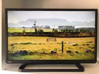 """Excellent 32"""" TOSHIBA LED TV hd ready freeview inbuilt"""