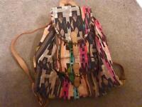 Accessorize Backpack Aztec Design