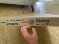 Ikea KOMPLEMENT Pull Out trouser hanger 50x58cm