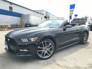 2015 Ford Mustang Convertible EcoBoost Premium w/ Leather & Navi