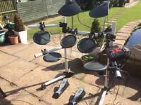 Yamaha DTexplorer electronic drum kit
