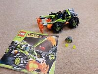 Lego Power Miners 8959 complete Set, not boxed. Display model only so in excellent condition