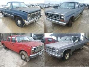 Classic Truck Parts for a limited time! 1983 GMC c2500 Reg cab 1981 Dodge W150 1983 F350 1983 GMC c2500 4dr @ PICnSAVE
