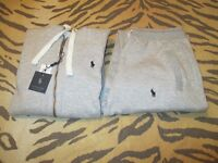 MENS POLO RALPH LAUREN HOODED FLEECE TRACKSUIT IN GREY - BNWT - IDEAL CHRISTMAS GIFT FOR ANYONE