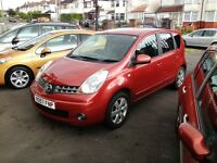 2007 NISSAN NOTE 1.4 ACENTA - R **STUNNING MPV WITH HUGH SPEC + LOW INSURANCE + ONLY 1 FORMER KEEPER