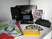 Nintendo 3DS Black Bundle GREAT CONDITION w/ Accessories + LEGO Pirates Game NEW
