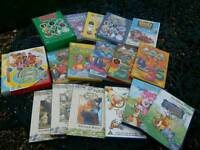 Collection of 17 children's Dvds
