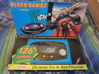 Systema TV Boy II Boxed 126 Games Old Vintage Retro gaming