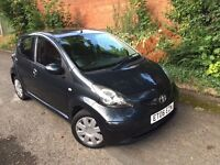 2006 Toyota Aygo 1.0 Vvti, 5dr, 70k,Mot expiry Apr 2018, £20 road tax