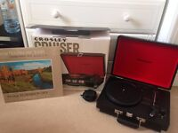 CROSLEY Cruiser Portable Turntable - Black