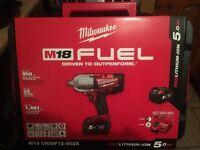 Brand new Milwaukee impact gun