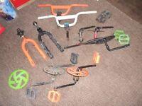 BMX Bike Spare Parts (LISTED TIL SOLD)