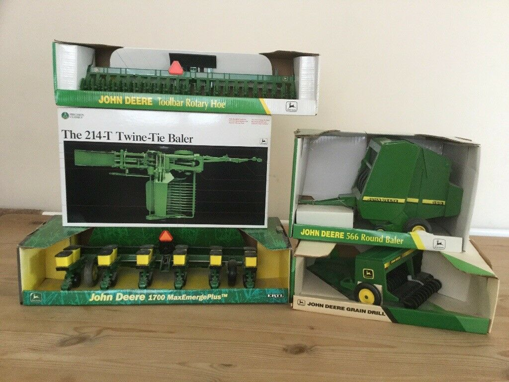 A collection of Ertl John Deere farming implements 1/16th scale never been  out of boxes | in Westhoughton, Manchester | Gumtree