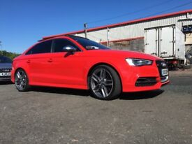Audi, S3 2015 2.0 T FSI (350ps) quattro Black Edition S Tronic Automatic