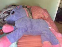 Unicorn Teddy new with tag