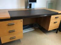FREE COLLECTION ONLY Wooden Desk, Used condition, FREE
