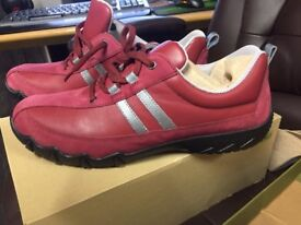 Womens Hotter trainers in red/plum uk size 9