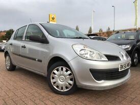 2007 (56 REG) Renault Clio 1.2 16v Expression 5dr, MOT Aug '18, HPI Clear, Low Car Tax & Insurance