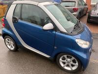 Smart, FORTWO CABRIO, Convertible, 2010, Semi-Auto, 999 (cc), 2 doors