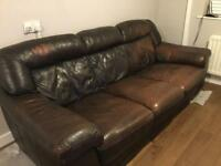 Leather sofa FREE