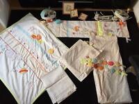 Humphrey's Corner bedding nursery cot set