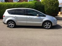 Ford S-Max Titanium TDCI 7 Seater Silver 2007 high spec FSH 2 keys and all books. Drives great.