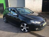 **AUTOMATIC+VOLKSWAGEN GOLF CR TDI 2.0 DIESEL BLACK (2009 YEAR)**