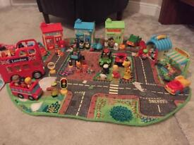Happyland Town Set