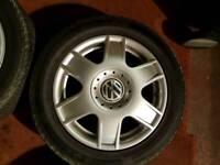 "Volkswagen golf 16"" alloys"
