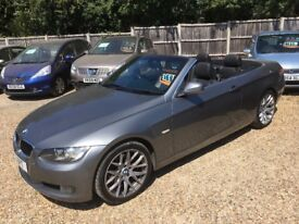 2009 [59] BMW 320D SE HIGHLINE CONVERTIBLE PRIVATE PLATE INCLUDED