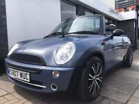 MINI Convertible 1.6 One 2dr PARTS & LABOUR WARRANTY