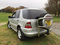 2000 MERCEDES ML 270 CDI AUTO ITS A BEAUTIFUL EXAMPLE