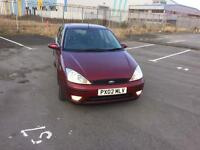 Ford Focus 1.8 petrol low miles (02) plate
